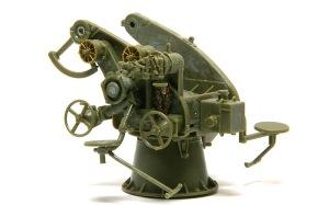 8.8cm対空砲Flak18 砲架の組み立て