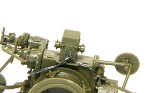 8.8cm対空砲Flak18 電源コードの行方