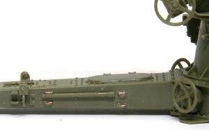 8.8cm対空砲Flak18 OVM取り付けフックをディテールアップ