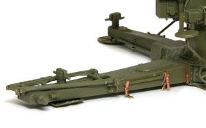 8.8cm対空砲Flak18 砲架の追加工作