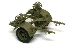 8.8cm対空砲Flak18 後ろのリンバー