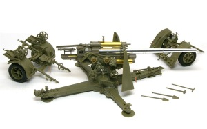 8.8cm対空砲Flak18 組み立て完了