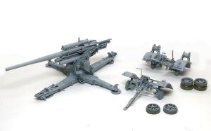 8.8cm対空砲Flak18 サフ吹き