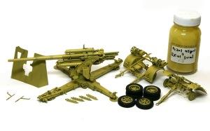 8.8cm対空砲Flak18 基本塗装