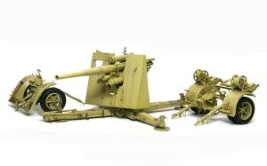 8.8cm対空砲Flak18 ウオッシング