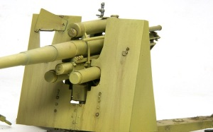8.8cm対空砲Flak18 防盾の雨だれ