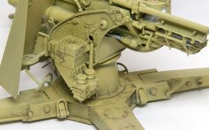 8.8cm対空砲Flak18 スミ入れ