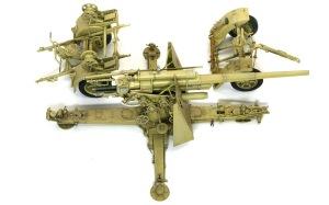 8.8cm対空砲Flak18 ドライブラシ