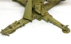 8.8cm対空砲Flak18 チッピング