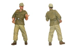 8.8cm対空砲Flak18砲兵セット 砲兵1人目