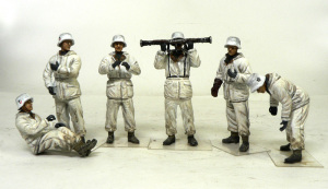 88mm砲Flak36 付属の人形が完成