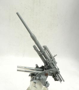 88mm砲Flak36 砲身、砲架の組立て