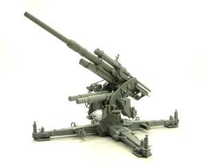 88mm砲Flak36 架台の組立て