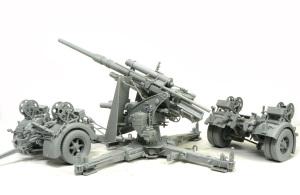 88mm砲Flak36 組立て完了