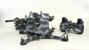 88mm砲Flak36 迷彩塗装
