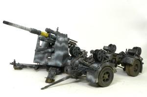 88mm砲Flak36 仕上げ