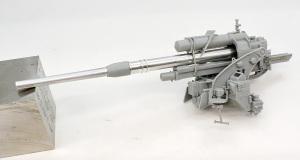 8.8cmFlak37 砲の組立て