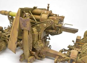 8.8cm対空砲Flak37 チッピング