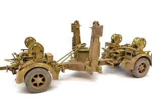 8.8cm対空砲Flak37 泥汚れ