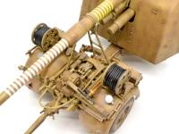 砲身には自慢げにキルマークがびっしり。8.8cm砲には欠かせませんね。