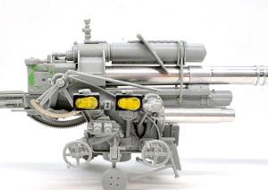 8.8cm対空砲Flak37 制御装置のメーター