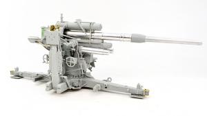 8.8cm対空砲Flak37 架台に砲を乗せてみる