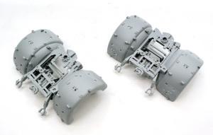 8.8cm対空砲Flak37 台車