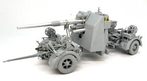 8.8cm対空砲Flak37 組立て完了