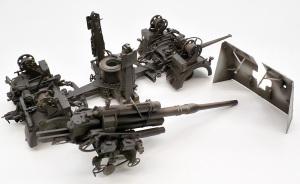 8.8cm対空砲Flak37 影吹き