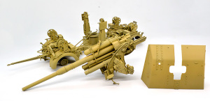 8.8cm対空砲Flak37 基本色