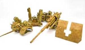 8.8cm対空砲Flak37 迷彩塗装