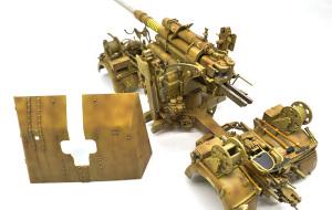 8.8cm対空砲Flak37 ドライブラシ