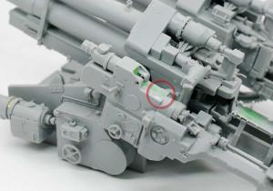 照準装置と信管の調整装置