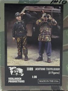 ドイツ戦車兵・対空警戒 1/35 バーリンデン