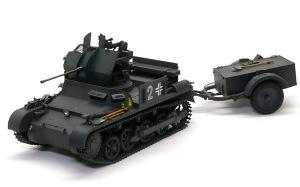 1号対空戦車A型 細部の塗分け