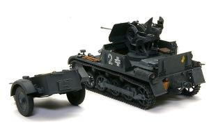 1号対空戦車A型 ウオッシングとドライブラシ