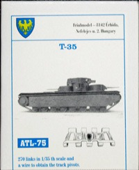 T-35用履帯 1/35 フリウル