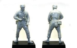 ドイツ・降下猟兵 モンテ・カッシーノ1944年 組み立て