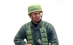 降下猟兵 モンテ・カッシーノ1944年 顔の塗装