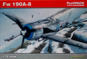 フォッケウルフFw190A-8 1/72 エデュアルド
