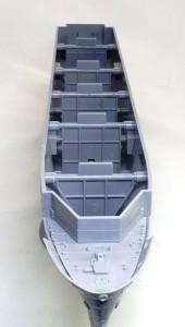 護衛空母CVE-73ガンビアベイ 船体の補強パーツ