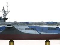 スミ入れ 護衛空母CVE-73ガンビアベイ