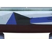 護衛空母CVE-73ガンビアベイ 艦底の塗装