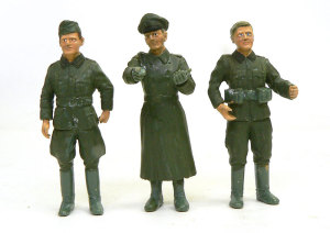 ドイツ・将校セット 顔の塗装