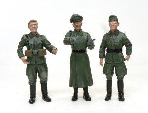 ドイツ・将校セット 服の塗装