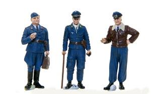 ドイツ空軍クルーセット パイロットたち