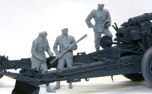 ドイツ・野戦榴弾砲兵 組み立て