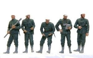 ドイツ・野戦榴弾砲兵 服の塗装