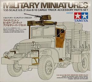 アメリカ・2.5t6×6カーゴトラック用アクセサリーキット