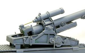 グリレ17 17cmK18の駐退復座機
